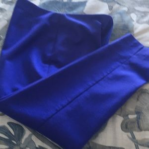 Chico's So Slimming Purple crop pants.